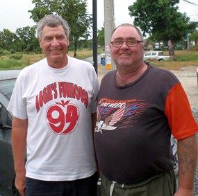 Steve Compton & Owen Walkley.