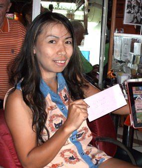 Sunday's winner Yui Bietry.