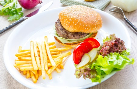 Inspirational Burgers at Centara Grand Mirage Pattaya.