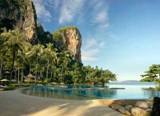 The Rayavadee resort in Krabi – one of 1,250 beachfront hotel properties in Thailand.