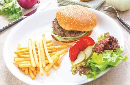 Inspirational Burgers at Centara Grand Mirage Pattaya.