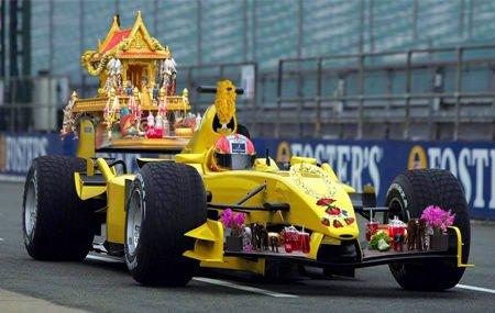 Thai F1 car