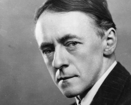 Arnold Bax in sombre mood.