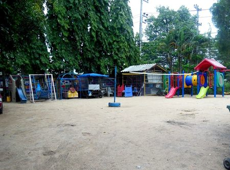 The play area for 78 children.