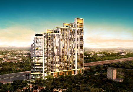 Riviera Jomtien will feature a 46-storey development incorporating 1053 luxury units.
