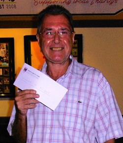 D Flight winner - Clive Mullins.