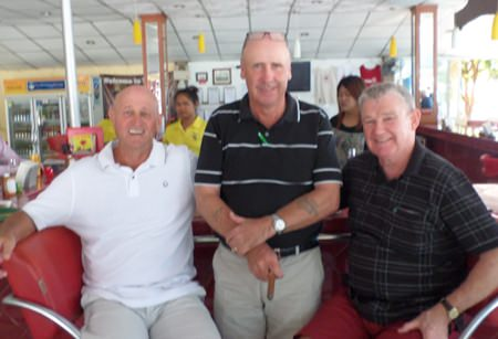Alan, George and Gary.