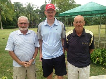 Dave Neal, Brad Todd & John Davies.