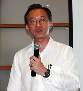 """Chaiyant Savanachai, the Deputy Managing Director of Thai Steel Cable Public Company Limited says, """"To survive, you need to go global."""""""