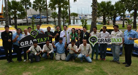 GrabTaxi, a high-tech startup that arranges metered taxis throughout Southeast Asia, announced they have launched in Pattaya.