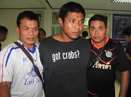 Banleng Huadcharoen has been arrested for allegedly raping a Danish woman in Huay Yai.