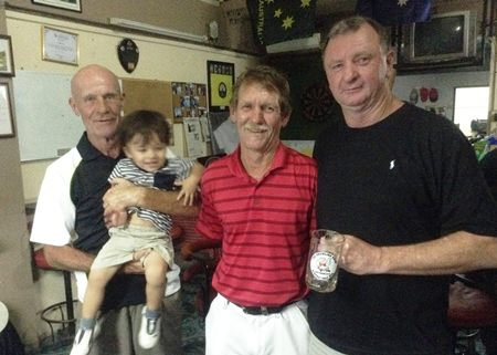 Alain Taddei, Neil King & David Fletcher.