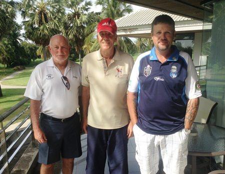 Ron Grafton, Gordon Clegg & Chris Stewart.