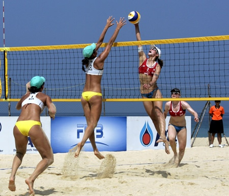 Witness world class beach volleyball action at the FIVB Pattaya Thailand Challenger tournament from 5–9 November.