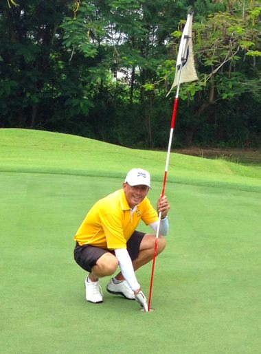 All in a day's work, Phil bagged his 1st 'Ace' last week.