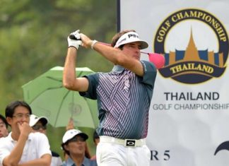 Bubba Watson of the USA will be one of the many big names appearing at the Dec. 11-14 tournament. (Photo/Thailand Golf Championship)