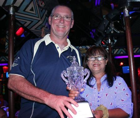 Matt Miller (left) - C Flight champion.