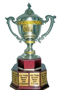 The John Preddy trophy.