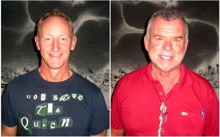 Nik Evans & Dennis Scougal.