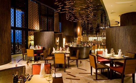 Italian Wine Dinner at Acqua restaurant.