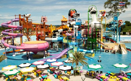 Cartoon Network Amazone water-park in Bang Saray is the newest tourist attraction to open on the Eastern Seabaord.