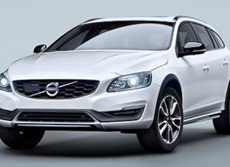 New Volvo V60 off-roader.
