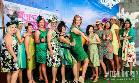 We are the ladies in green and we love to be seen!