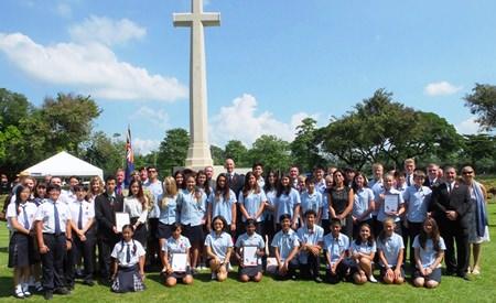 International Schools with the British Ambassador.