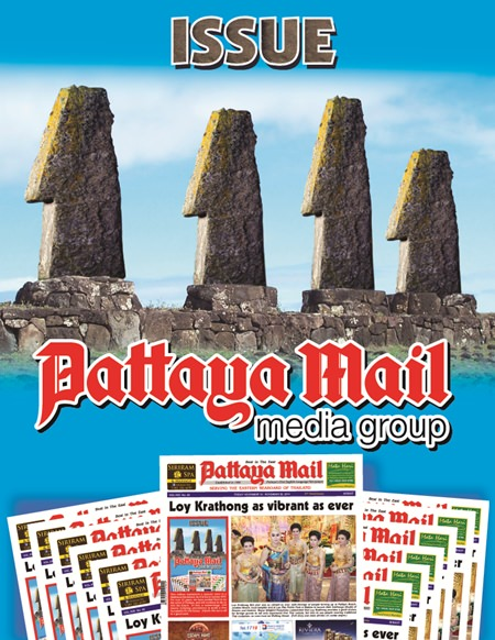 This edition represents a special, once in a lifetime achievement, for it is issue number 1111.  For over 21 years, we have worked hard to be the voice of Pattaya, and will continue to do so into the future.  In fact, in numerology, 1111 means initiating procedures to build a firm foundation for the future.  It looks like we're off to a good start.