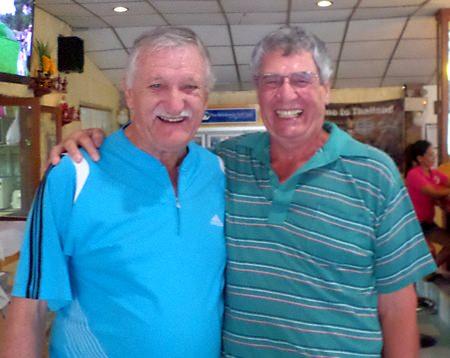 John Player & Steve Compton.