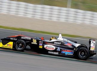 Stuvik again showed the form that in 2014 has brought him the EuroFormula Open Formula 3 Championship and the Spanish Formula 3 Championship titles.