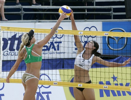 Witness some world-class beach volleyball action this weekend in central Pattaya.