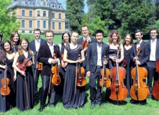 ZHdK Strings chamber ensemble.