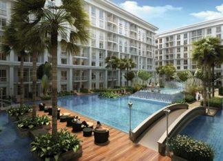 An artist's rendering shows the 526-unit Orient Jomtien Resort & Spa.
