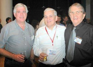 (L to R) Frank Holzer, David Nardone and George Strampp.