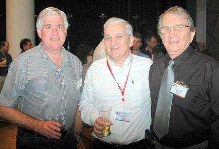 (L to R) Frank Holzer, David Nardone and George Strampp.