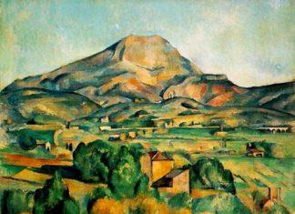 Mont Sainte-Victoire, Provence (Paul Cézanne, c.1895).