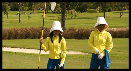 Thailand's caddies provide a unique and fun golfing experience.
