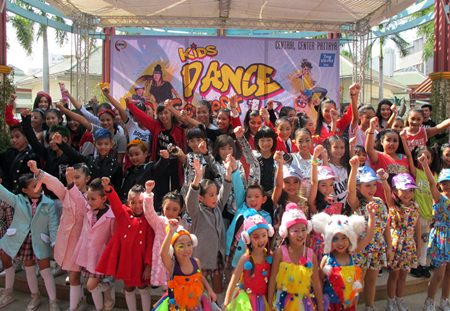 Children were encouraged to be more assertive and use their spare time productively with two dance contests organized by North Pattaya's Central Center.