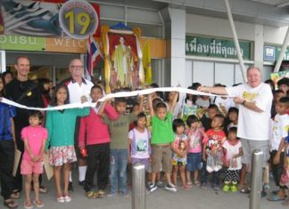 This year over 500 items were rung up and nearly 47,000 baht was spent, with plenty of happy faces on all the kids.