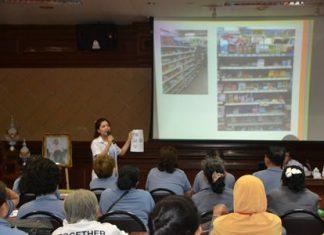 Pattaya Hospital pharmacists explain the correct way to use household medicine.