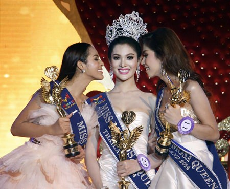 Nattarika Unthong won the Second Miss Mimosa Queen pageant, whilst Sornnarin Onjan placed second and Apisda Charoensuk finished third.