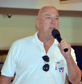PCEC member (and chairman) Roy Albiston invites members and guests to join the Open Forum portion of the PCEC meeting by asking any questions they may have about expat living in Pattaya or providing recommendations for restaurants, good movies now playing, etc.