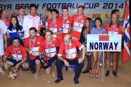The champion Norway team.