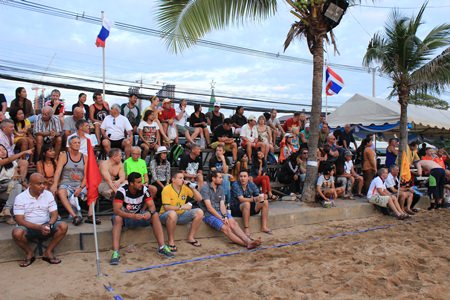 Large crowds came out to enjoy the action and cheer on their favourite teams.