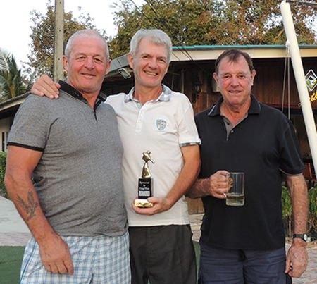 (L-R): Gerry Roche, Reijo Heiskanen and Bruce McAdam.