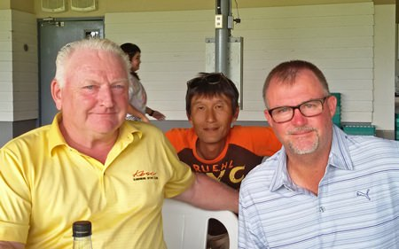 Steve Ellison, Kenny Aihara and Rusty Barfield.