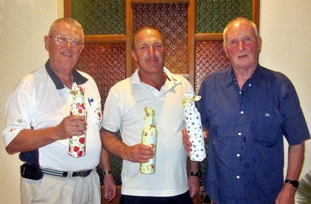 Boxing Day winners (L-R): Dick Warberg, Rob Brown and John Marritt.