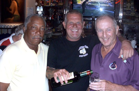 (L-R): Ed Wyckoff, Freddy Starbeck and Colin Davies.