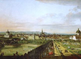 Vienna in the 1750s. (Bernardo Bellotto, 1758)